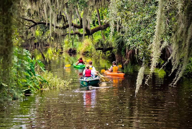 group kayak canoe hammock   frog creek  rh   frogcreekrv